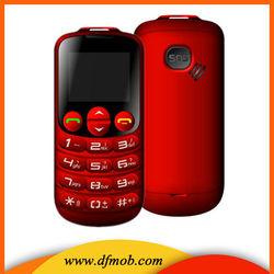 Cheap Big Keyboard 1.8INCH GPRS/WAP Big Font MTK6260M SOS GSM Dual SIM Elder Mobile Phones T08