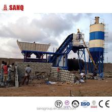 Mobile type Portable Ready Mix Concrete Batch Plant