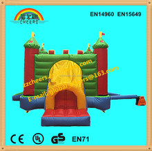 Inflatable indoor and outdoor kids bounce house,bounecy castle and slide