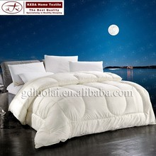 china supplier 100% cotton comforter,5 star hotel supply quilt, queen beds comforter quilt