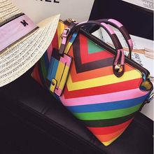 brand women high quality genuine leather women handbag/shoulder bag