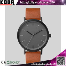 Big Dial Simple Design Mens Gift Stainless Steel Watch
