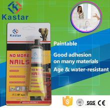 Kastar new product Mercury lens liquid nails construction adhesive with ISO14001 approved