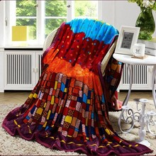 Free sample baby pictures blanket made in china