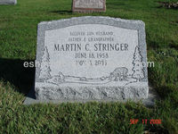 grey granite -cheap tombstone