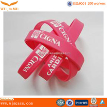 Factory direct valentine day gift silicone bracelet with fashion color