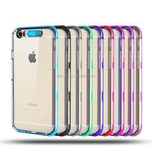 Hot Selling mobile phone casefor iphone case glitter lighting phone case