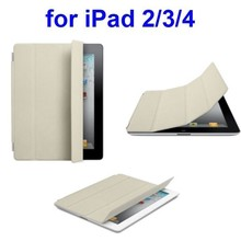 Factory Price Ultrathin 4 Folio Leather Smart Case for iPad Air 2