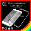 Factory Price 0.3mm for iphone 5 5S transparent crystal clear soft TPU case cover