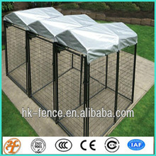 hot galvanized and pvc metal dog cage temporary dog kennel fence panel 3 x 1.5 x 1.8M