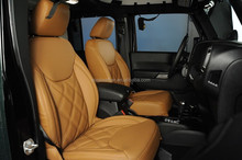 High quality customized Italian leather car seat cover for Jeep Wrangler