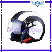ECE Open Face Helmet DP501 Leather Cover