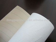 Water fuel separation quantitative oil filter papers for fuel filter