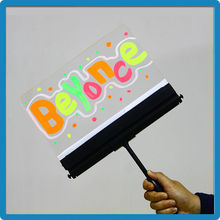 pick-up card/transparent acrylic illuminated signs for manufacturers looking for distributors