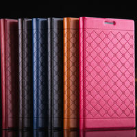 design pu leather mobile phone cover for iphone 6, fashion pu leather cell phone cover