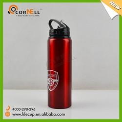 2015 new Aluminum sport water bottle,sport bottle pass FDA,BPA free