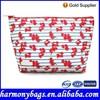 Elegant design Floral printing beauty bag cosmetics
