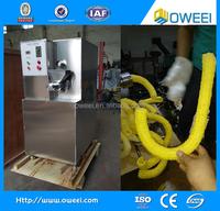 2015 high efficiency pop corn hollow tube bulking machine for ice cream