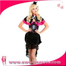 Women fancy dress, vampire carnival costume