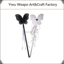 High Quality Black And White Girls Party Butterfly Fairy Wand