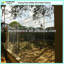 weather resistance attractive ,sturdy and cost effective solution curvy welded mesh fence (factoty)