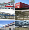 low cost prefabricated steel frame workshop