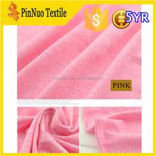 2015 hot sale cheap cotton fabric teflon coated for t shirt and garment