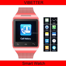 S18 Chinese smart watch phone with high sensitive capacitive touch screen/bluetooth watch S18