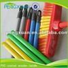 custom PVC coated wooden toilet brush holder,brush handle,brush stick