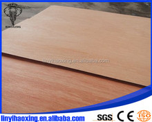 Linyi Haoxing good quality okoume marine plywood with competitive price