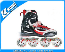 Alibaba wholesale automatic action inline shoes China roller skates shoes