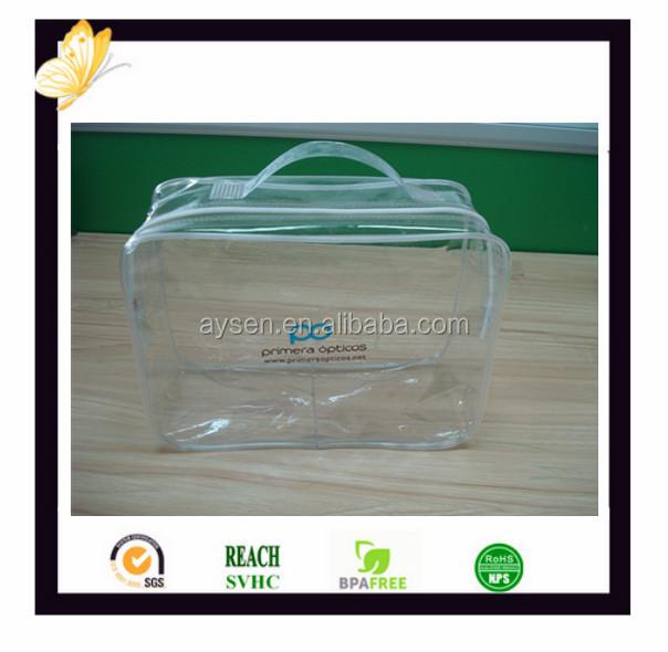 Bolsas de PVC para las hojas de cama con la impresión personalizada