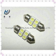 c5w 31mm 4SMD 5050 smd festoon 12volt led replacement light car parts wholesale