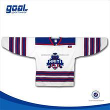 Wholesale cheap digital printing warm-up ice hockey jerseys