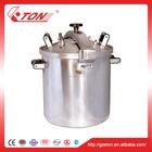 Melhor exportação vendedor grande capacidade de aço inoxidável panela de pressão