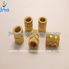 moldeo por inyección de insertos de plástico de fabricación china