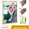 LED aluminum snap frame edge lit slim indoor advertising light box for photo frame