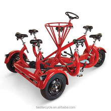 Conference trike built for Seven-person tricycle