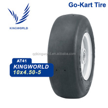 10*4.5-5 front soft compound racing tire for go kart