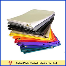 PVC Vinyl White Fire Retardant Tarps