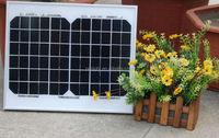 low price mini solar panel home solar system 10w mono solar panel