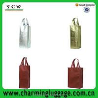 custom nonwoven wholesale cheap non woven wine bag