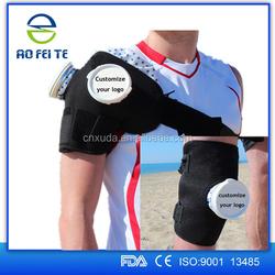 2016 Best seller Sport Injury Ice pack Knee Wrap Cooler Ice Bag For Medical Supply