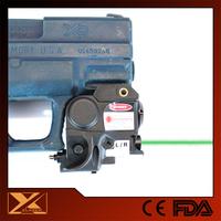 Compact gun green laser and light combo