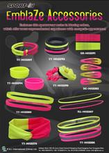 Sportswear headband wristband scrunchy hair accessories