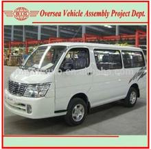 Left Hand Gasoline Engine New Manual Transmission Bigmt 6480A1 15 Passenger Mini Bus Price