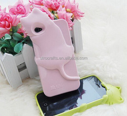 Top level hotsell lovely silicone phone case cover