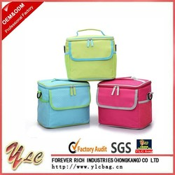 Insulated Fabric Lunch Picnic Bag Cooler Bag Waterproof