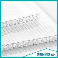 plastic swimming pool roof polycarbonate sheet fixing