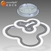 Acrylic ring pendant lighting acrylic ceiling lamp fashion acrylic chandelier pendants OXD9948-2DW